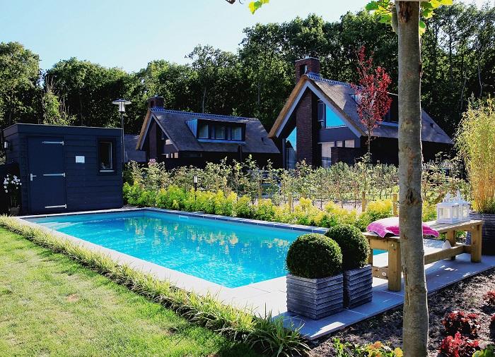 Dutchen vakantiehuis met privé zwembad