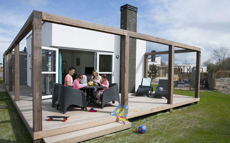 Duinvilla met veranda