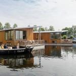 bungalows aan het water