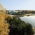 Hoofdgebouw Center Parcs het Meerdal