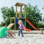Speeltuin op bungalowpark Landal De Bloemert