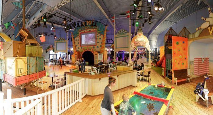 Indoorspeeltuin Center Parcs Parc Zandvoort
