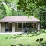 Vrijstaande bungalow op bungalowpark
