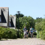 Fietsen over het bungalowpark