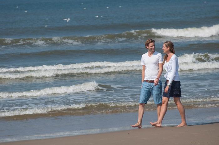 Strand en de Waddenzee