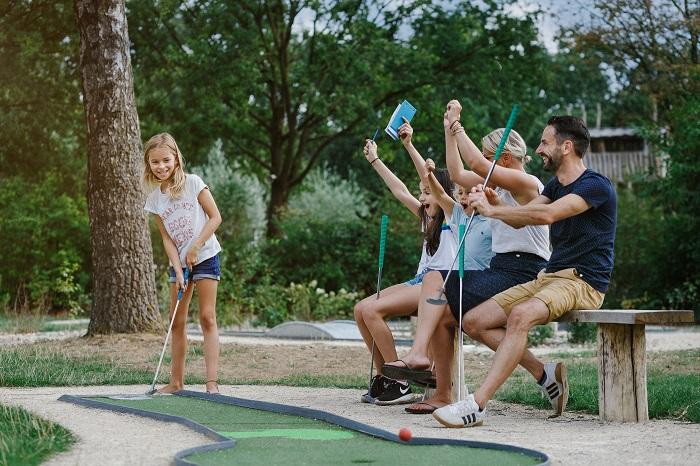 Vakantiepark Dierenbos midgetgolf