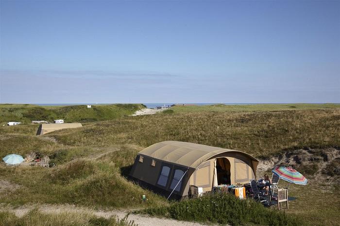 Kampeerplaats op Texelcamping Kogerstrand