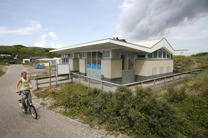 Sanitairgebouw Texelcamping Kogerstrand