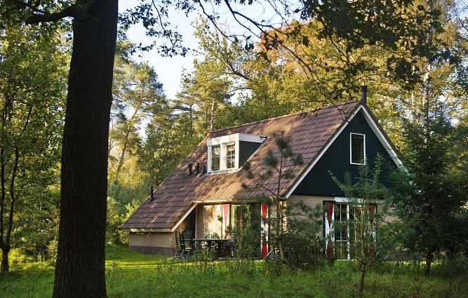 Vrijstaande bungalow midden in de natuur