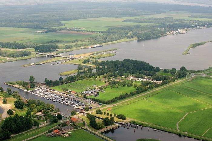 Luchtfoto Droompark Bad Hulckesteijn