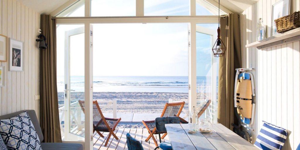 Haags strandhuisje