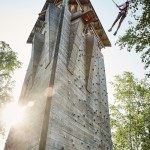 Klimtoren op Center Parcs De Kempervennen