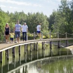 loopbrug Center Parcs Limburgse Peel