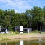 Vrijstaande bungalows met uitzicht op het water