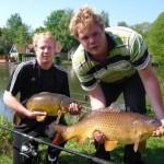 Vissen op Vakantiepark het Timmerholt