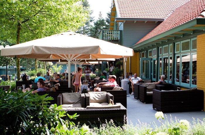 Restaurant met terras