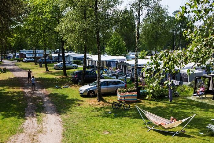 Kampeerplaatsen pp Recreatiepark de Achterste Hoef