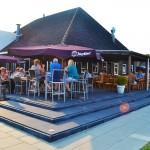Vakantiepark Giethoorn Restaurant met terras