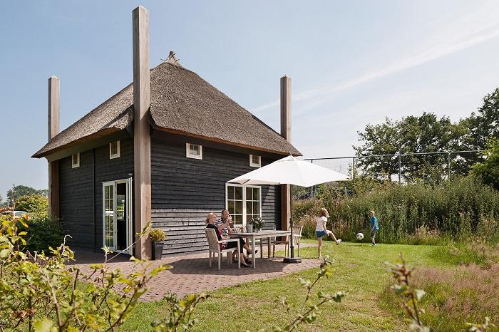 Vakantiehuisje met tuin en terras