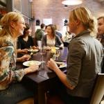Eten in het restaurant