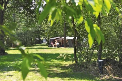 Kampeerplaats op het veld Familiecamping De Vossenburcht