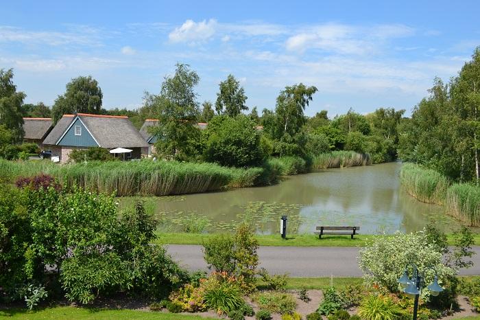 Visvijver Villapark De Weerribben