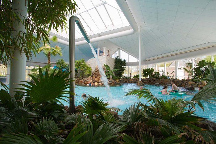 Binnenzwembad op Buitehof de Leistert