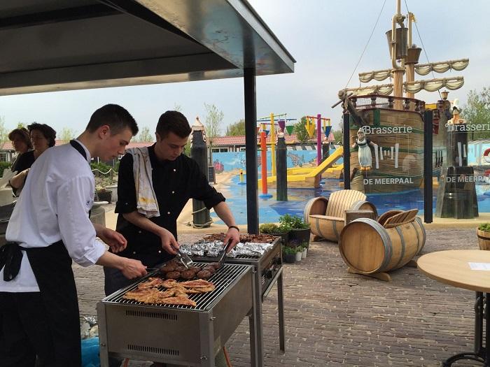 barbecue Vakantiepark de Meerpaal