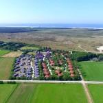 Luchtfoto Vakantiepark Tjermelân Terschelling