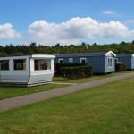 Stacaravans op Camping Coogherveld