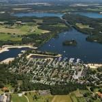 Vakantiepark Leukermeer vanuit de lucht