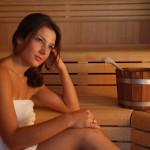 Wellness: Sauna