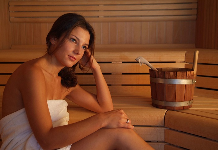 Wellness: Sauna
