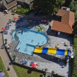 luchtfoto buitenzwembad