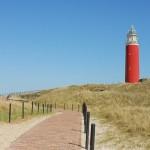 Vuurtoren op het eiland Texel