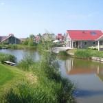 Villa's aan het water