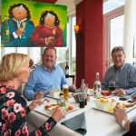 Eten en drinken in het restaurant