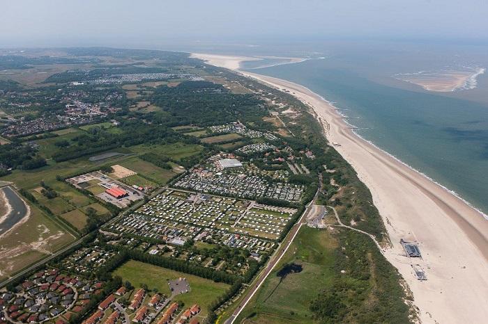 Luchtfoto Camping International