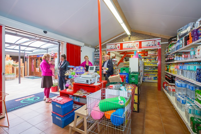 Supermarkt Kindersanitair
