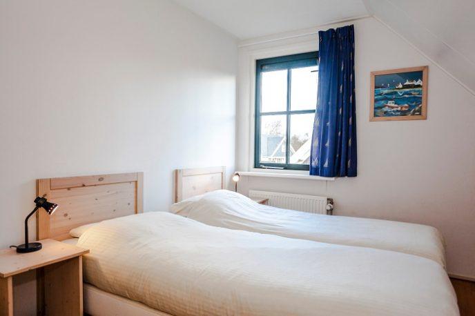 Slaapkamer in de bungalow