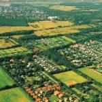 Luchtfoto Kustpark Klein Poelland