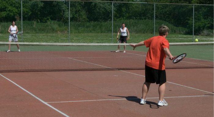 Tennisbaan Kustpark Klein Poelland