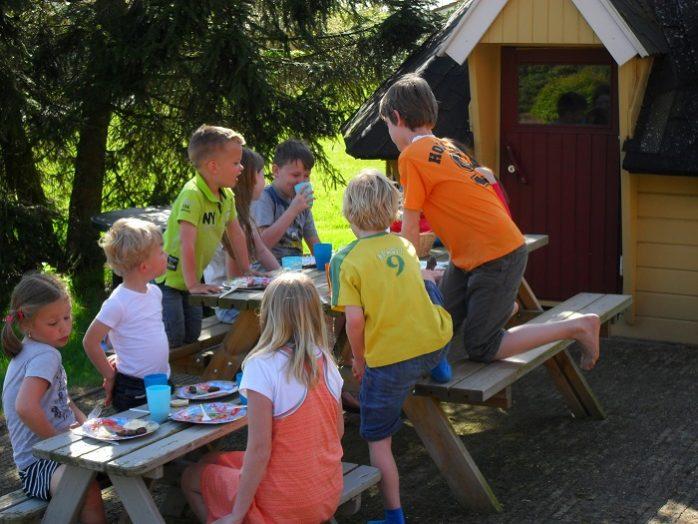Kinderen aan het spelen