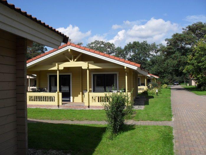 4 persoons vrijstaande bungalow