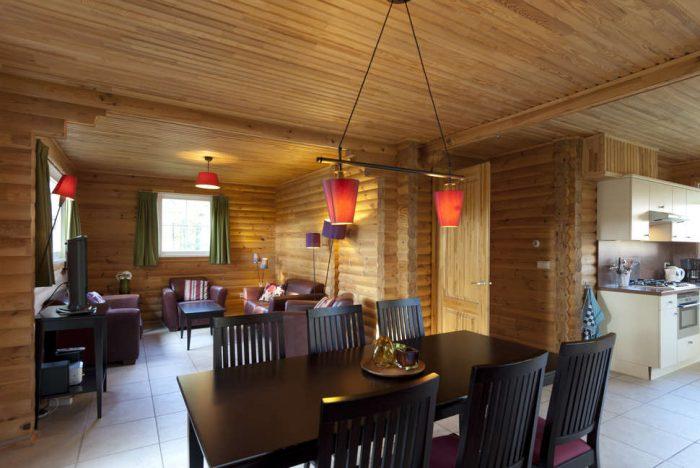 Woonkamer bungalow