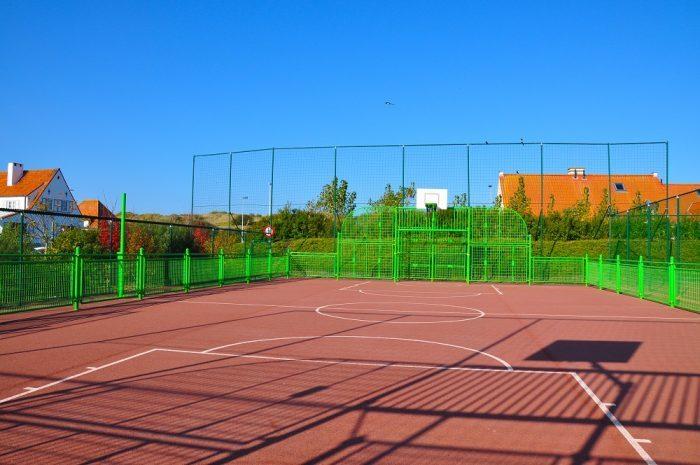 Zeepark Wenduine Haerendycke voetbalkooi