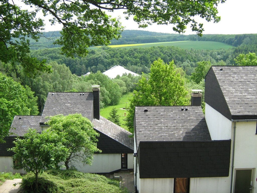 uitzicht vanuit park
