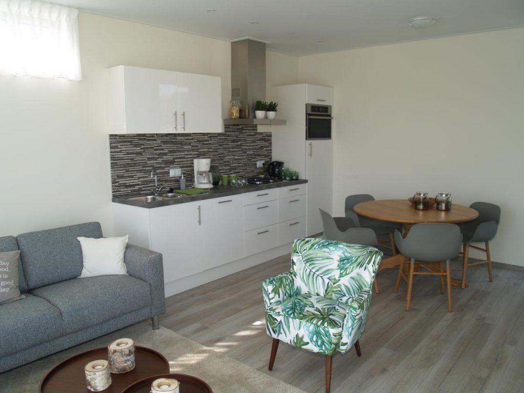 Keuken in de chalet
