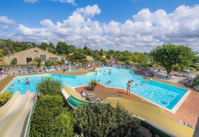 RCN La Ferme du Latios zwembad