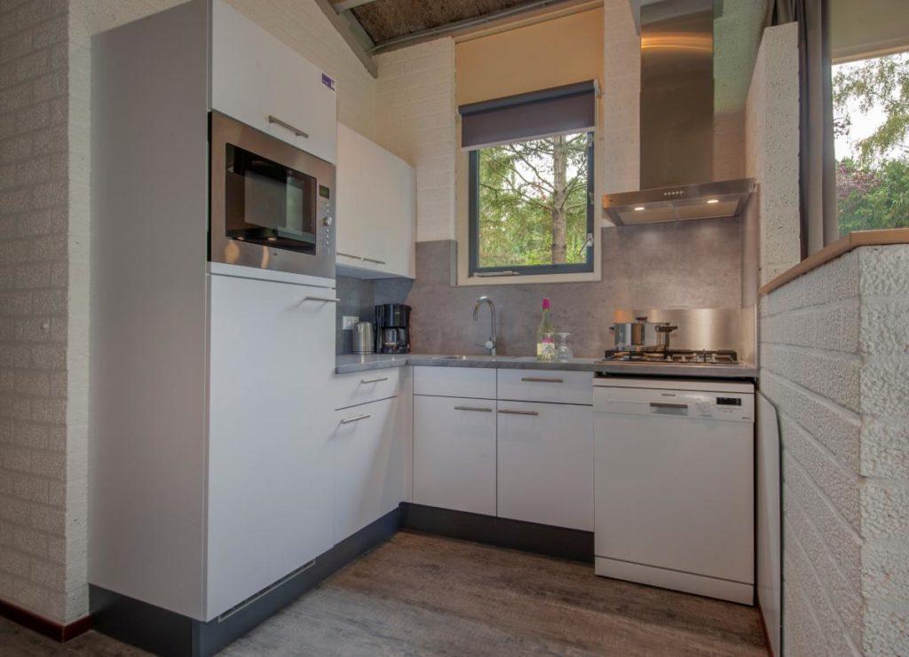keuken bungalow Roompot Weerterbergen